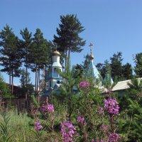 Храм в Северобайкальске :: Татьяна Ким