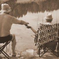 Рыбалка в 70 :: Ирина Крохмаль