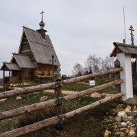 Деревянная церковь в Плесе :: Иван Щербина