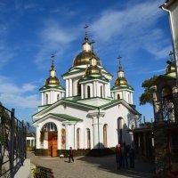 Собор в Верхней Ливадии :: Ольга Голубева