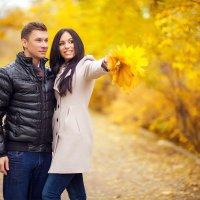 Теплая осень. :: Александр Беспалый