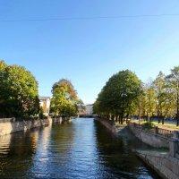 Набережная канала. Вид с Красногвардейского моста. :: Владимир Гилясев