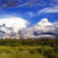 Буйство облаков-2 :: Александр Потапов