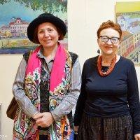 Марина Рибачук та Людмила Богдан, художниці :: Степан Карачко