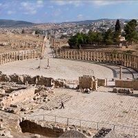 Раскопки древнего Джираша. Иордания :: Lmark