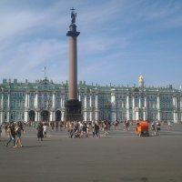 Вечер на Дворцовой площади. :: Жанна Викторовна