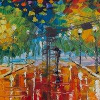 tower crane in paints :: Дмитрий Карышев