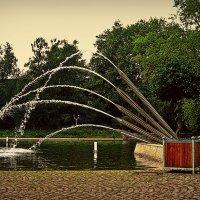 фонтан в Дортмунде :: Александр Корчемный