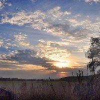 Осенний закат :: Диана Задворкина