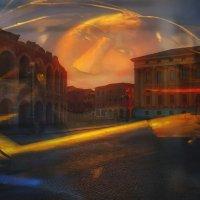 как одиноко спит город... :: Ирэна Мазакина