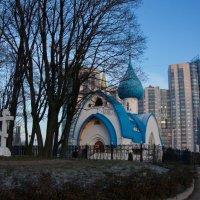Церковь Иоана Кронштадского :: Валентина Папилова
