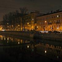 Вечером на Фонтанке. :: Владимир Питерский