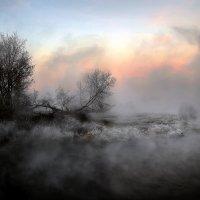 Закатные причуды тумана... :: Андрей Войцехов