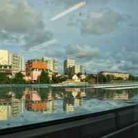 Я опять плыла куда-то,  в мир из камня и стекла :: Ирина Данилова
