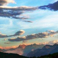 Утро в Альпах... :: Илья Подоляко