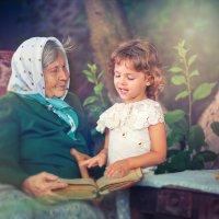 моя любимая бабушка :: Евгения Малютина