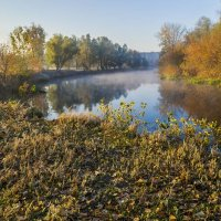 Утро на реке :: Сергей Корнев