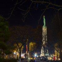 Рига  ночью 18.11.2014 :: Irina Jesikova