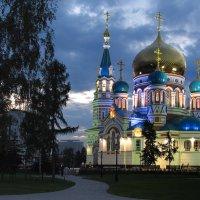 Родной город Омск. Успенский собор :: Дмитрий Иванцов