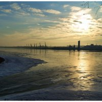 Лед есть, снега нет :: Alexandr Яковлев