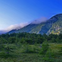 На закате накрывает туман.  Колыма 15 :: Виталий Половинко