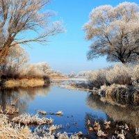 Прощалась с осенью река... :: Лесо-Вед (Баранов)