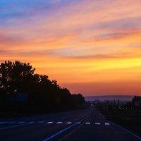 День начинается с дороги :: юрий Амосов