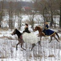 Зимняя охота :: Марина Лощенко