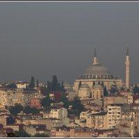 Стамбул. Если минарет, значит выше всех... :: Михаил Розенберг