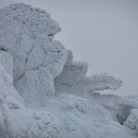 Снежные големы, метеостанция, Таганай. :: Дима Макаров
