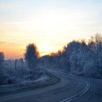 по дороге к сыну в армию такая красота (утро) :: Светлана
