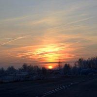 на восходе солнца :: Светлана