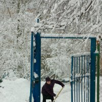Молочное.После снегопада :: Валерий Талашов