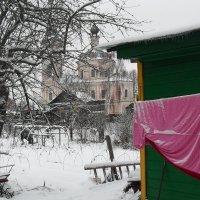 Ночью шел снег,подморозило. :: Святец Вячеслав