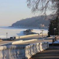 Волга замерзла :: Ната Волга