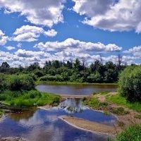 лето.река.жара. :: юрий иванов