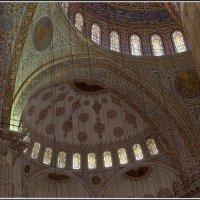 Стамбул. Голубая мечеть. :: Михаил Розенберг