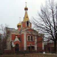 Церковь Воскресения Христова на быв. Семеновском кладбище. :: Александр Качалин