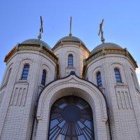 Храм на Мамаевом Кургане. :: Лариса Красноперова