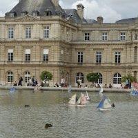 Вид на Люксембургский дворец с бассейном :: Светлана Лысенко