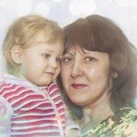 бабушка и внучка :: ТатьянКА Кузнецова