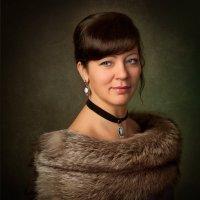 Дама в мехах :: Татьяна Юрченко
