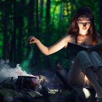 Прекрасная ведьма :: Дмитрий Иванов