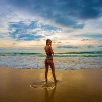 на пляже :: Евгений Л