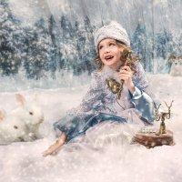 снегурочка с телефоном :: Александр Барденцев