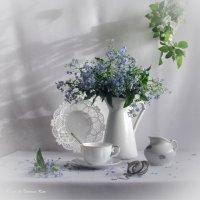 Бело-голубое лето :: Татьяна Ким