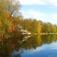 Озеро в Аугсбурге(Германия) :: Galina Dzubina