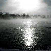 на улице мороз,на Иртыше пар стоит. :: Наталья Бридигина