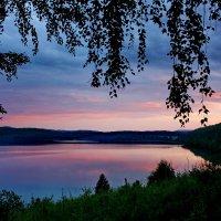 Тихий вечер у озера. :: Наталья Юрова