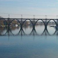 Мерефо-Херсонский мост в Днепропетровске. :: Наталья